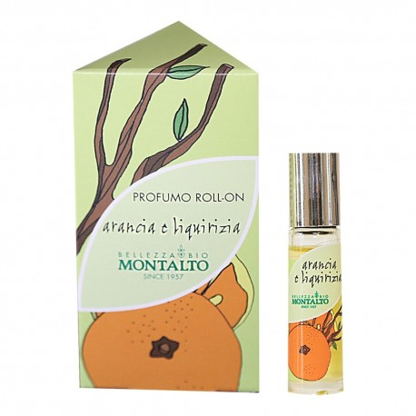 Profumo roll on Arancia e Liquirizia