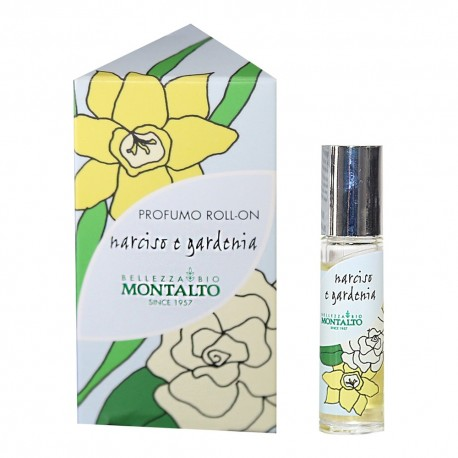 Profumo roll on Narciso e Gardenia