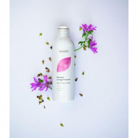 Shampoo Lavaggi Frequenti semi d'uva e malva