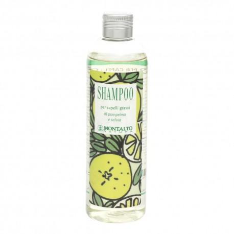 Shampoo Capelli Grassi Pompelmo e Salvia