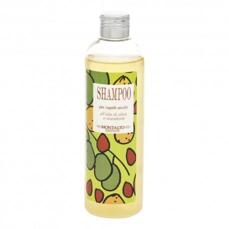 Shampoo Capelli Secchi Olio di Oliva e Mandorle